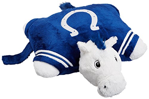 NFL Indianapolis Colts Pillow Pet (Indianapolis Colts Applique)