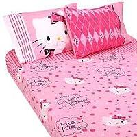 Hello Kitty Sweet and Sassy Twin Sheet Set