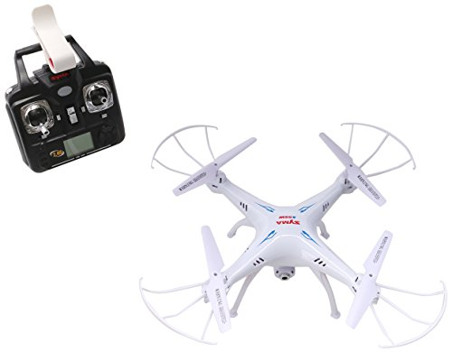 Syma X5SW Explorers2 2.4G 4CH 6-Axis Gyro RC Headless Quadcopter with 0.3MP HD Wifi Camera (FPV) White by SYMA