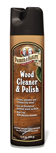 Parker Bailey 563000  Cleaning Product Wood Cleaner & Polish Aerosol Spray, 12.5 oz