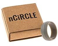 nCiRCLE Silicone Rings (Titanium 12)