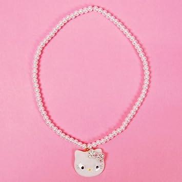 collier perle hello kitty