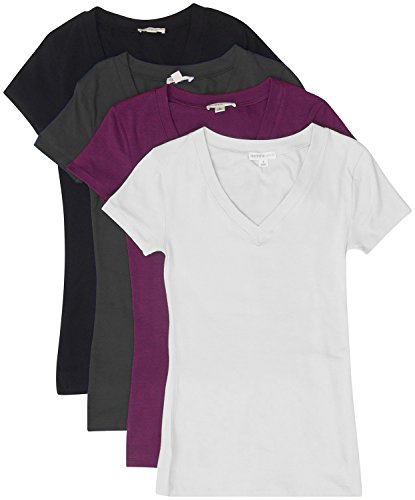 Women Cotton Sleeves V neck T shirts product image
