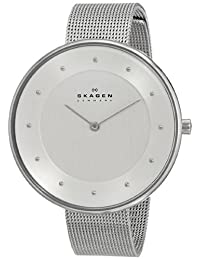 Skagen Women's SKW2140 Gitte Stainless Steel Watch with Steel-Mesh Band