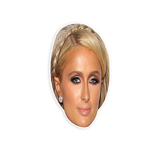 Paris Hilton Halloween Costumes (Serious Paris Hilton Mask - Perfect for Halloween, Masquerade, Parties, Events, Festivals, Concerts - Jumbo Size Waterproof)