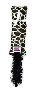 KONG Kickeroo Pattern No.1 Catnip Toy, Colors Vary, Giraffe