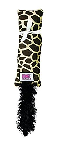 KONG Kickeroo Pattern No.1 Catnip Toy, Colors Vary, - Kong Toy Kickeroo Cat