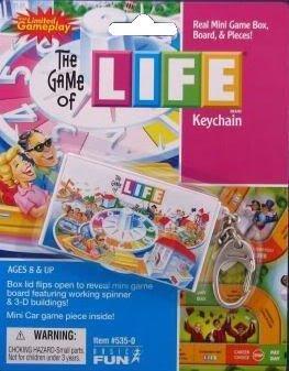 Life Board Game Keychain by Basic Fun
