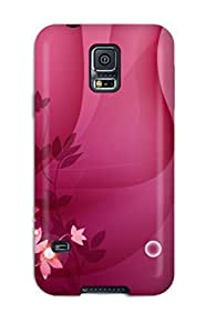 For Galaxy Case, High Quality Pink Theme For Galaxy S5 Cover Cases