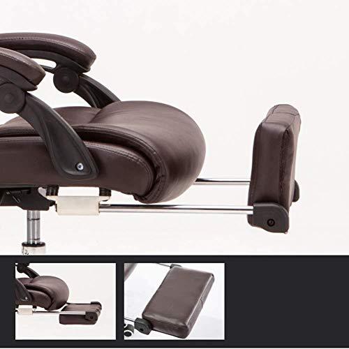 Barstolar Xiuyun hem kontor skrivbordsstol svängbar stol spelstol datorstol uppgift stol verkställande stol anpassad länkarmstöd 170 ° stor vinkel lutning