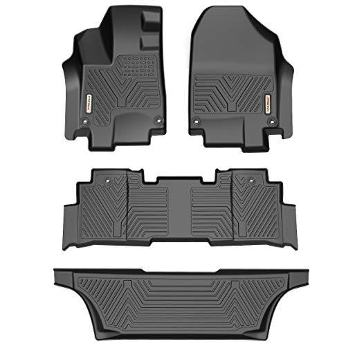 YITAMOTOR Floor Mats for Honda Odyssey, Custom Fit Floor Liners for 2018-2020 Honda Odyssey, 1st & 2nd Row All Weather Protection