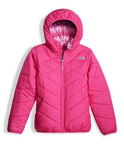 The North Face Girl's Reversible Perrito Jacket - Petticoat Pink - XS (Past (Reversible Ski Jacket)