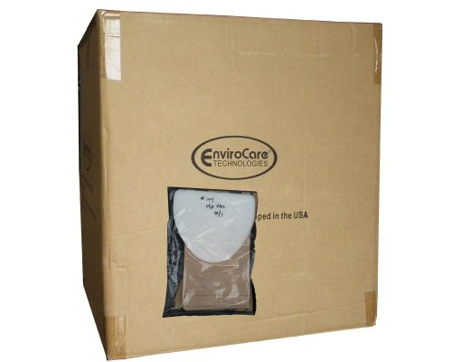1 Case (25 pkgs) EuroClean ErgoClean, Nilfisk Advance, Kent, SerVac, Tennant 1406554-02 Hip Vac Vacuum Cleaner Bags + Filter UZ964 Advance Agility