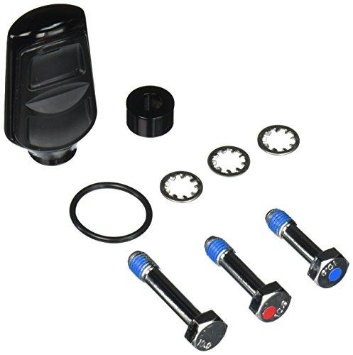 Kuryakyn 7655 Kinetic Gloss Black Shift/Brake (Kuryakyn Chrome Shift Peg)