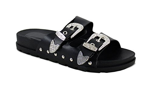 Black Fashion Shoes Clog Mules By and Women's xZBwzapqC