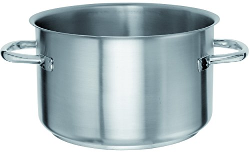 STERNSTEIGER Meat and Vegetable Casserole Pot, heavy professional quality, Stainless steel( 13 Months Warranty)