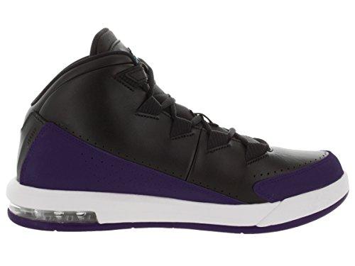 Jordan Nike Mens Air Deluxe Scarpa Da Basket Nero / Bl Lgn / Brght Cncrd / Bianco