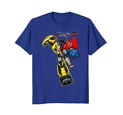 Transformers Running Morphed Robot T-Shirt