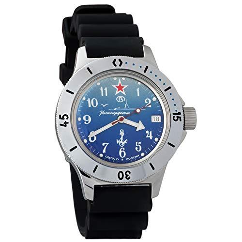 Case Watch Resin Dive (Vostok Amphibian Automatic Mens Wristwatch Self-Winding Military Diver Amphibia Case Wrist Watch #120289 (Resin))