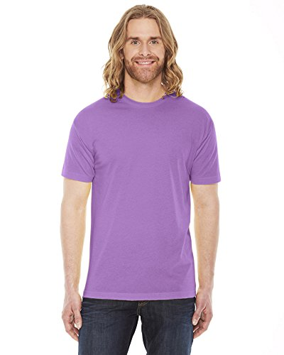 American Apparel Unisex Poly/cotton Short Sleeve Crew Neck T bb401 - Orchid - XL ()