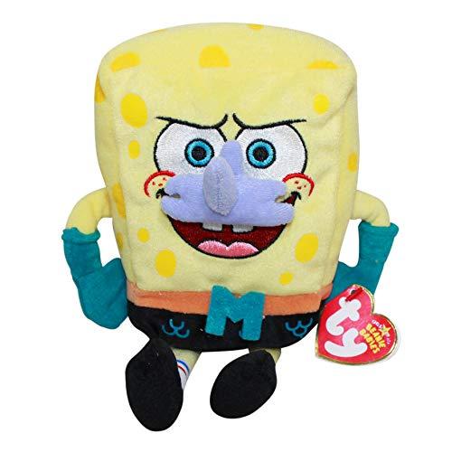 TY Beanie Babies SpongeBob Mermaidman