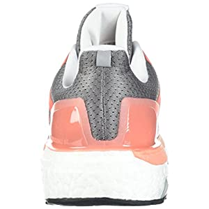 adidas Performance Women's Supernova ST W Running Shoe, Grey Three/White/chalk Coral, 8 M US