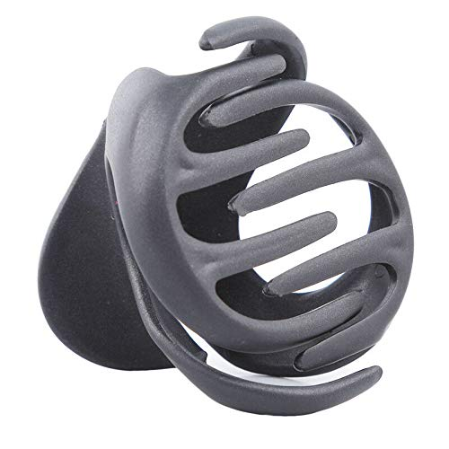 Fashion Women Black Brown Plastic Large Hairpin 8 Claws Girls Hair Clip Clamp (Color - Black) (Black Flashing Antenna)
