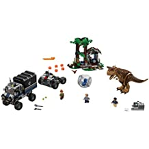 LEGO Jurassic World Carnotaurus Gyrosphere Escape 75929 Building Kit 577 pieces