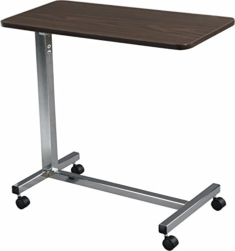 Generic YC-AUS2-150929-1 <8&16601> HeightTilt Overbe Non-Tilt Hospital Overbed Rolling Over the Bed Table Adjustable Height Hospital Ov by Generic
