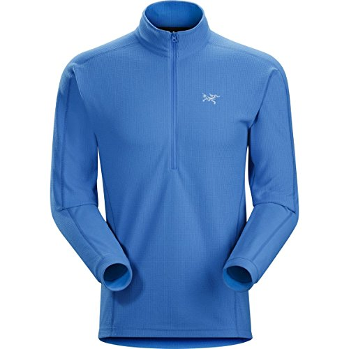 ARC'TERYX Men's Delta LT Zip-Neck Pullover Rigel Blue XL