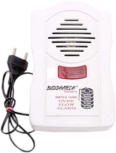 Water Tank Overflow Alert Alarm Sound System (Save Electricity and Save Water) (DAMROO)