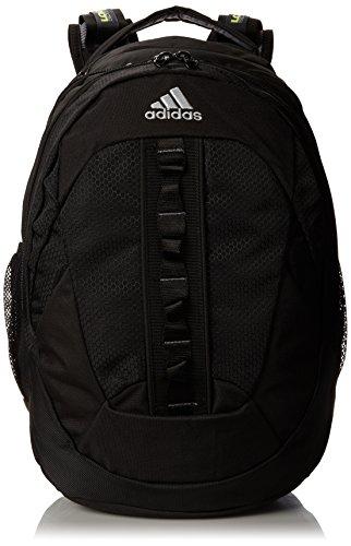 adidas Ridgemont Backpack, Black, 19 x 14 x 14-Inch (Laptop Black Backpack 15.4')
