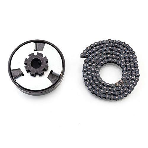 Go-Karts Parts & Accessories Predator 212cc 6.5HP Centrifugal Clutch 3/4″ Bore 12 Tooth #35 Chain screw sets