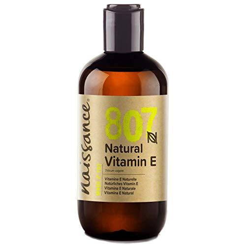 Naissance Natürliches Vitamin E Öl (Nr. 807) 250ml 100% natürlich