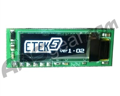 Planet Eclipse Paintball Etek 5 Oled Board Upgrade for Etek5 or GTEK by Planet Eclipse