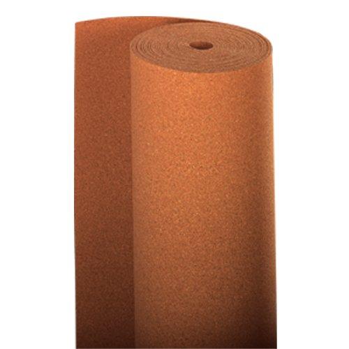 10 m² 2mm Rollenkork zur Laminat und Parkettverlegung