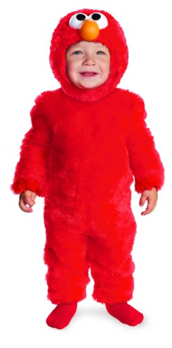 Elmo Mascot (Sesame Street Light Up Elmo Toddler Costume, 3T-4T)