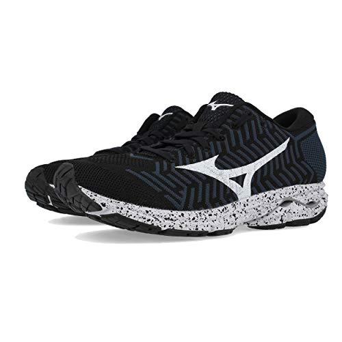 Zapatillas ombreblue 001 Para R2 black Multicolor Waveknit black Hombre Mizuno 8AqESE