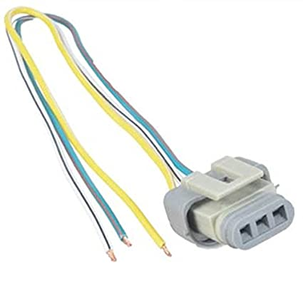 Amazon.com: Ford 2G 3G 4G Alternator Harness Voltage Regulator ... on 3 wire wiring harness, 3 wire power connector, 3 pin connector, 3 hose connector, screw terminal connector, 3 terminal connector, 6 pin wire connector,