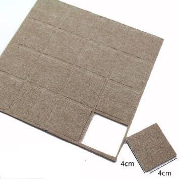 3er 3mm Dicke Möbelfüße Bodenschutz Mat Pack FilzStuhlTisch Mute zSUpMqV