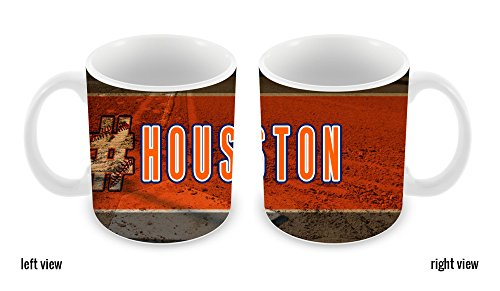 BleuReign(TM) Hashtag Houston #Houston Baseball Team 11oz Ceramic Coffee Mug
