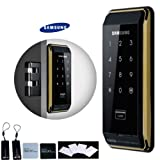 SAMSUNG EZON SMART DOOR Lock Shs-d500 Luxury Gold&Black