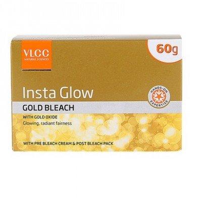 VLCC Insta Glow Gold Bleach, 60g