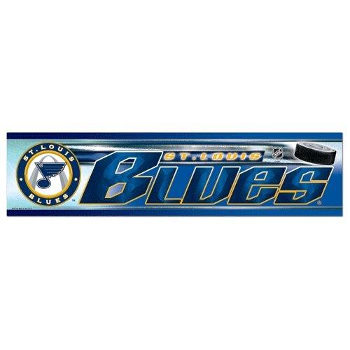 St Louis Comics - Wincraft NHL St. Louis Blues WCR13346913 Bumper Strip, 3