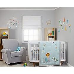 Zutano Juba 5 Piece Crib Set, Multi-Colored