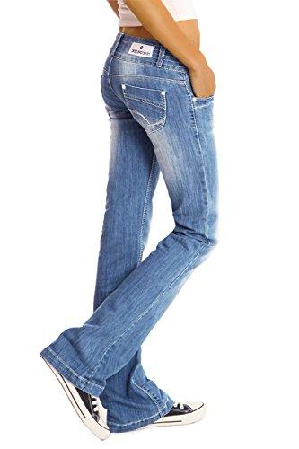 J97y Bootcutjeans Jeans Jeans Donna Bestyledberlin Blu wqOPTP