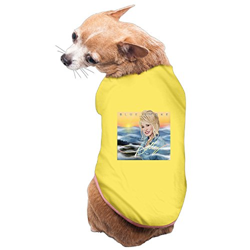 Dolly Parton Blue Smoke Dog Clothes Dog Hoodie