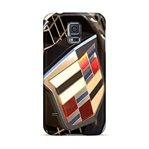 Samsung Galaxy S5 GXb17056bEcU Allow Personal Design Colorful Cadillac Logo Series Great Cell-phone Hard Covers -KennethKaczmarek