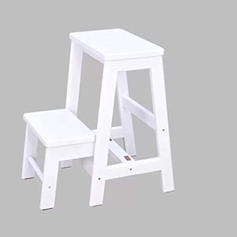 Fabulous Amazon Com Rmjai Handcrafted 100 Solid Wood Step Stool Alphanode Cool Chair Designs And Ideas Alphanodeonline