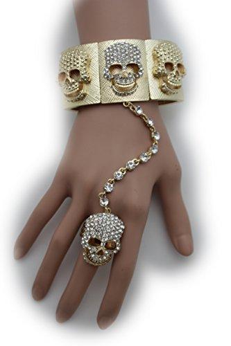 tfj-women-fashion-jewelry-hand-chain-wrist-bracelet-charm-skeleton-skulls-silver-color-rhinestones
